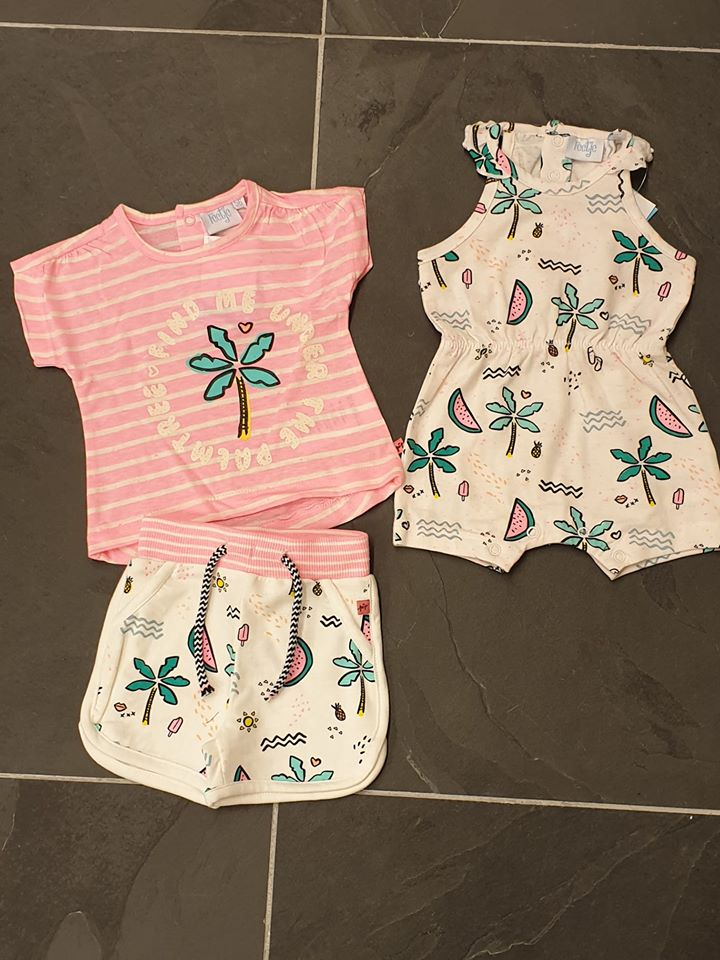 Baby kleding van het merk Feetje