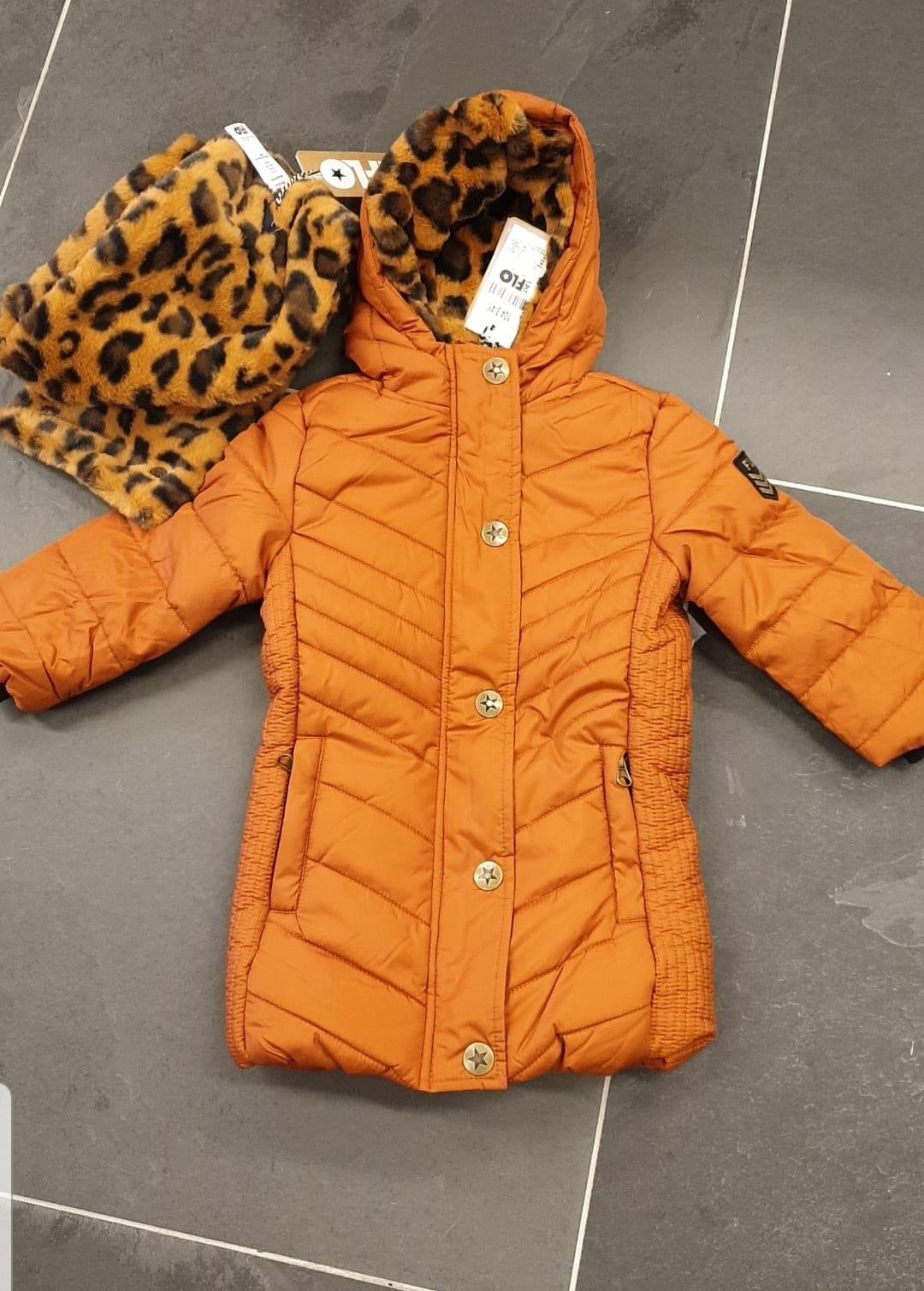 Cognac kleurige jas