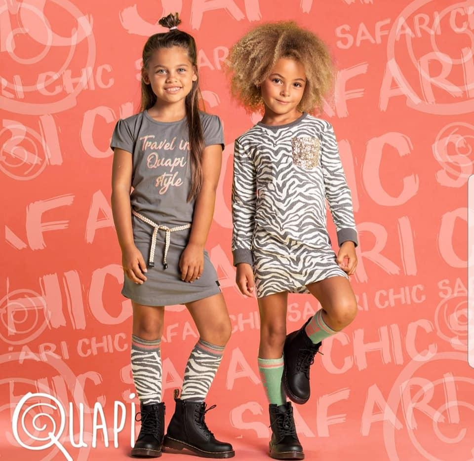 de nieuwe kleding collectie van Quapi